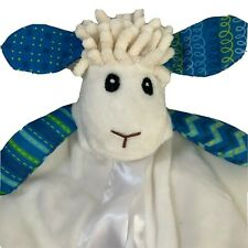 Wee Believers Levi The Lamb Security Blanket satin Lovey I Am A Child Of God.  H