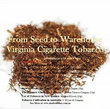 CD - Grow Virginia Tobacco from Seed to Warehouse - 10 eBooks