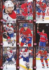 2015-16 Upper Deck Montreal Canadiens Complete Series 1 & 2 Team Set 15 Cards