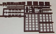 Pacific Rail Shops ~ PRS S scale Freight Car ~ Boxcar Details  - Ladders - Steps