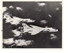 Vought Crusaders F8U VF103 Navy Fighter Aircraft Official Photo 8x10 1965