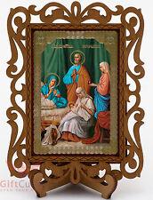Nativity of the Theotokos икона Рождество Пресвятой Богородицы wooden Icon