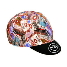 Columbus MULTITAG CYCLING BIKE Hat Cap by Cinelli-attrezzi fissi-MADE IN ITALY