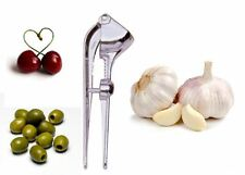TALA GARLIC PRESS CHERRY PITTER Built Olive Stainless Steel coated Kitchen Tool