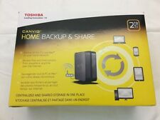 Toshiba Canvio Home Backup and Share 2TB HDNB120XKEK1