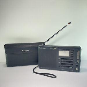 Panasonic RF-B45 FM LW MW SW SSB Quartz Synthesized Receiver Radio W/ Case