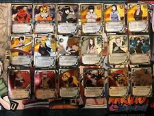 Naruto CCG 18 Platinum Foil Naruto Card Lot