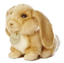 "L@@K Aurora Lop Eared Rabbit 26164 8"" Long Stuffed Animal Soft Baby Toy NEW"