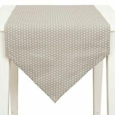 Clayre /&Eef Brocante Tischläufer 50x140 Shabby Chic Weiß Beige COTTAGE VINTAGE