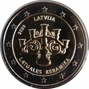 #RM# 2 EURO COMMEMORATIVE LATVIA 2020 - CERAMICS
