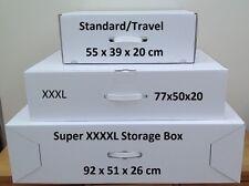 Wedding dress storage box. XXXL 40 large sheets Acid Free tissue incl. FREE P&P