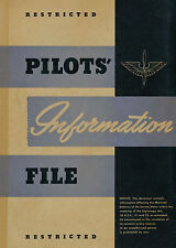 US ARMY AIR FORCE - PILOTS' INFORMATION FILE - 1943
