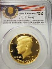 2014-W 50th Ann Gold Kennedy Half  PCGS PR70DCAM First Strike
