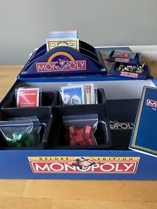 Monopoly Deluxe Edition Board Game (100% Complete) Retro 1996 Waddingtons