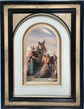 1v2: il dipinto 3 saggi dal paese domani Heinrich schwemminger Vienna Roma 1870