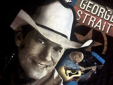 Legendary King Of Country Music George Strait 2007 USA 21 States Tour Tshirt 2XL