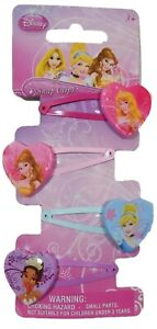 Disney Princcess Hair Clips