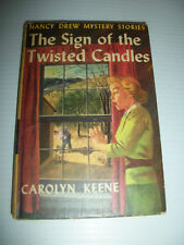 Nancy Drew Mystery Stories The Sign of the Twisted Candles By Carolyn Keene 1933