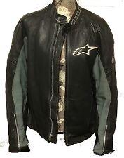 ALPINESTARS leather motorcycle Jacket Size 44
