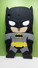 Kids New 3D Silicone Cute Cartoon Batman Back Case Cover for iPad mini 1/2/3