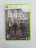 Beatles: Rock Band (Microsoft Xbox 360, 2009) Free Fast Shipping
