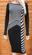 Round Neck Long Sleeve Viscose Jumper Dresses for Women