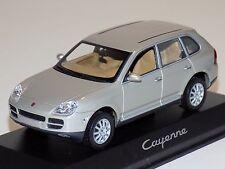 1/43 Minichamps Street Porsche Cayenne in Silver Dealer Edition