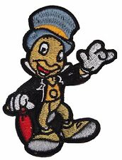 """Disney's Jiminy Cricket Character 3 1/2"""" Tall Embroidered Patch"""