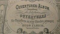 Ouverturen Album Sammlung der beliebtesten Ouvertüren Hugo Ulrich H8455