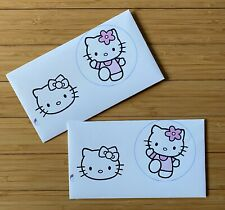 Hello Kitty Envelopes 4x7 Paper Handmade Stationery 2 Piece Lot