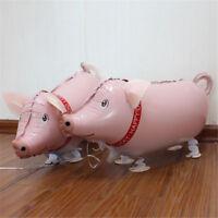 Ballon gonflable animal de marche de porc décoré fête d'anniversaire de maria TR