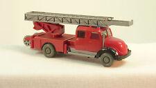 Wiking 1:87 H0 620/34 Magirus Sirius Leiterwagen Feuerwehr  (Ro2233)