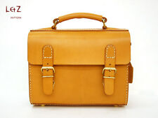 Leather Pattern messenger bag BXK-06 Leather tool leather supply leather punch