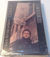 DENNIS DE YOUNG Tape Cassette BACK TO THE WORLD 1986 A&M Records USA - BRAND NEW