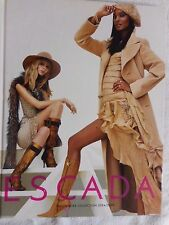 ESCADA Vintage 2004 2005 Fashion Catalog Book Advertising Marketing Fall Winter