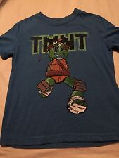 Crazy 8 Boys Shirt Teenage Mutant Ninja Turtle Size Small 5-6 Short Sleeve