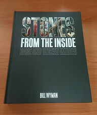 RARE Stones From the Inside: Rare and Unseen Images Book SIGNED by Bill Wyman