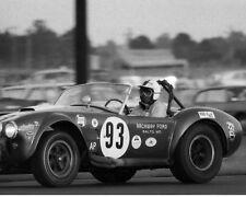Vintage 8X10 Daytona 1966 427 Cobra No. 93 Oscar Koveleski