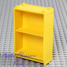LEGO Minifig Yellow BOOK SHELF - Girl Boy Elf Friends Story Bookcase Bookshelf
