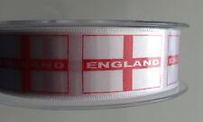 BERISFORD SATIN FLAG RIBBON 25 mmor 35mm - UNION JACK ENGLAND SCOTLAND WALES
