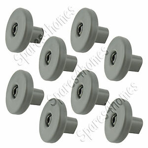 Zanussi Dishwasher Lower Basket Wheels x 8 ZDF511, ZDF511S, ZDF550 Genuine
