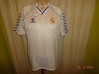 "Real Madrid Original hummel Heim Trikot 1986-1989 ""ohne Hauptsponsor"" Gr.M TOP"