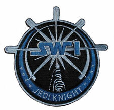 Star Wars Jedi Knight Lightsaber Embroidered Iron on Patch