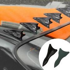 Universal Car Roof Spoiler Bumper Shark Fin Diffuser Vortex Generator Black 1Pcs
