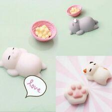 Cartoon Lazy Sleep Cat Soft Squishy phone Charm Cute Bread Cell phone  Straps