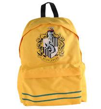 Oficial Harry Potter Hogwarts Hufflepuff Crest Escuela Bolso Mochila Morral