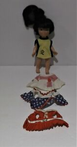 Vintage 1966 Remco Pocketbook Doll Plastic Jan 5 1/2 inch without packaging