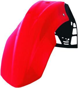 Free Flow UFX Front Fender Red Polisport 8565200001 w/ Universal Mount System