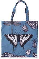 INSECTS FOLDABLE SHOPPING BAG - Reusable Eco Grocery Storage Tote Handbag