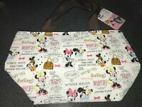 DAISO Disney Minnie Mouse Tote Lunch Bag From JAPAN picnic